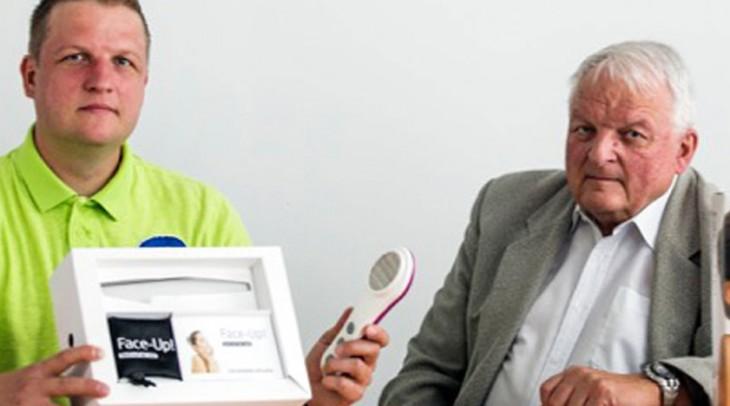 O výzkum českého vědce má zájem celý svět, přístroj Face-Up! vstoupí na trh vdeseti zemích na třech kontinentech